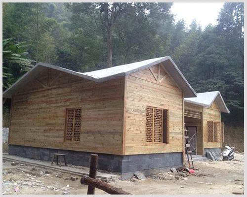 防腐木屋制作