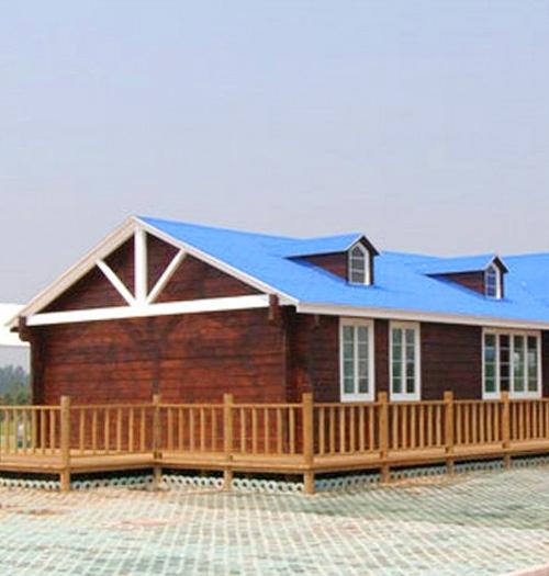 上猶庭院木屋制作